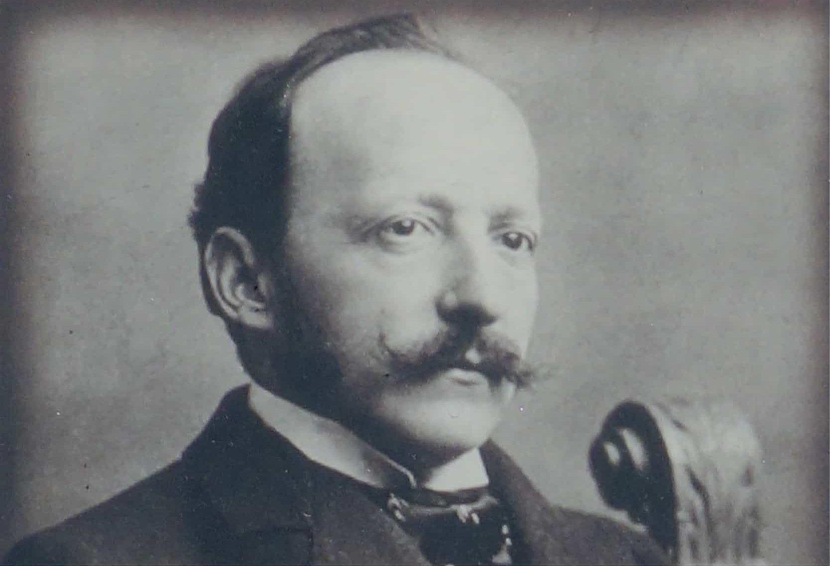 Swiss hotelier César Ritz - (23 February 1850 – 26 October 1918)