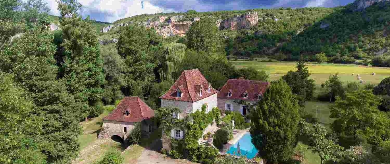 Le Moulin sure Célé