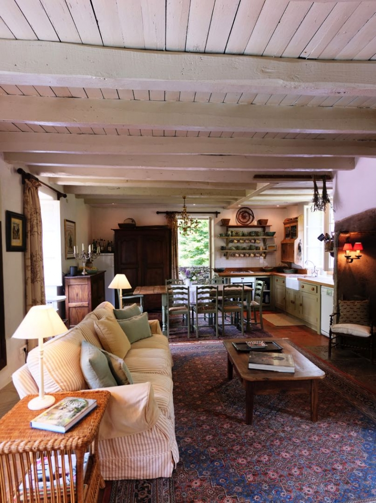 Le Moulin sur Célé - Interiors & Accommodation