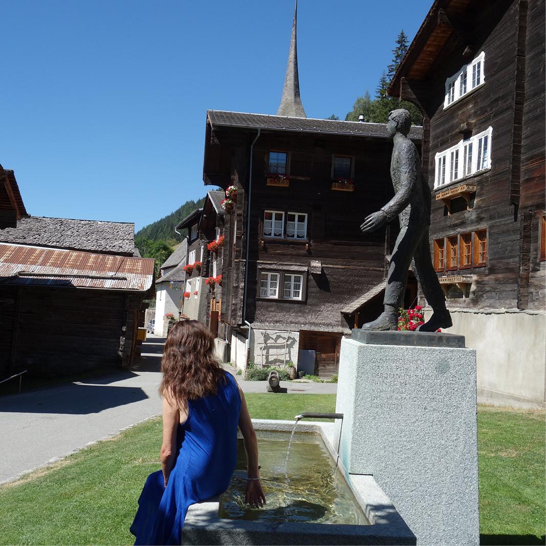 César Ritz Memorial - Niederwald - Switzerland