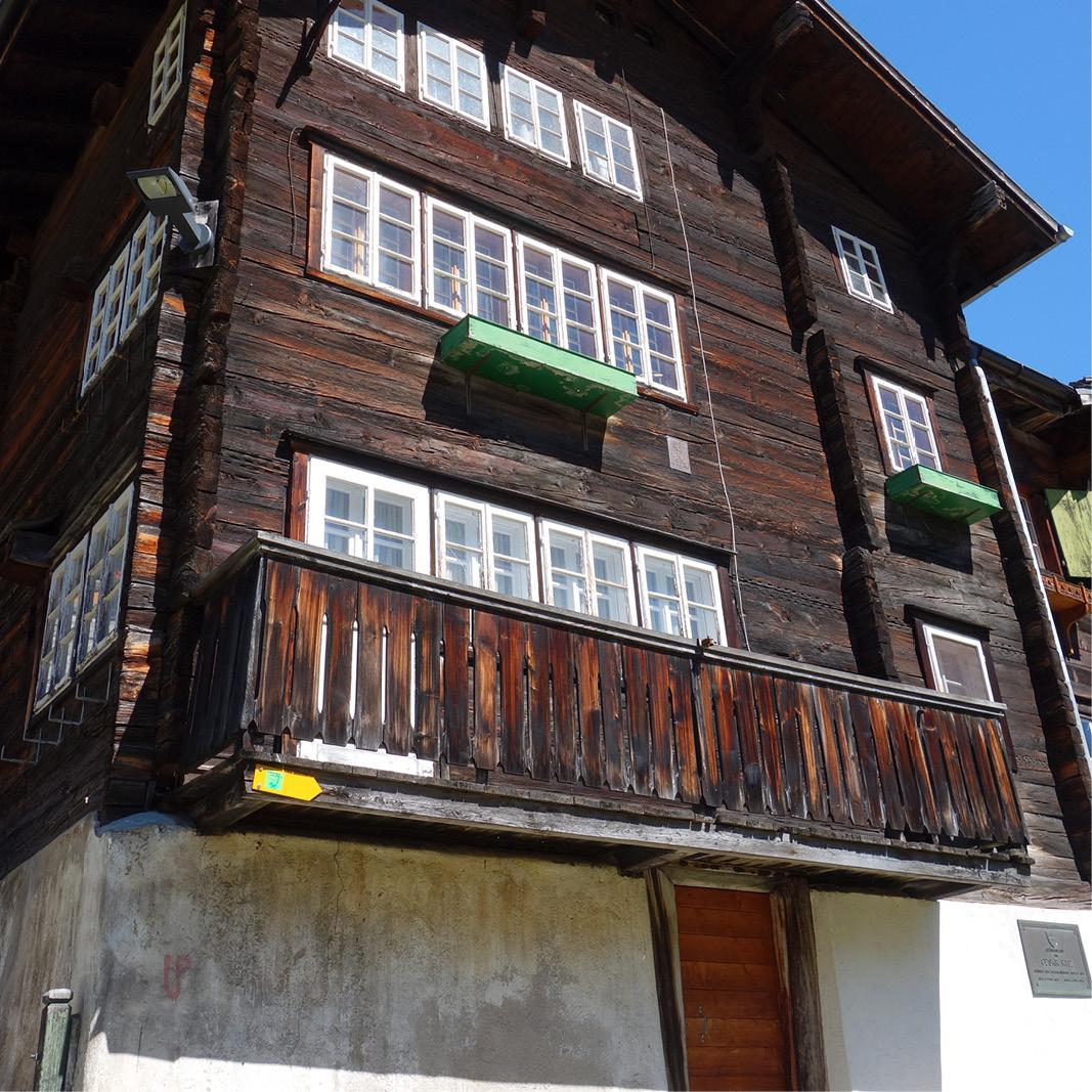 César Ritz - Birthplace Niederwald - Switzerland
