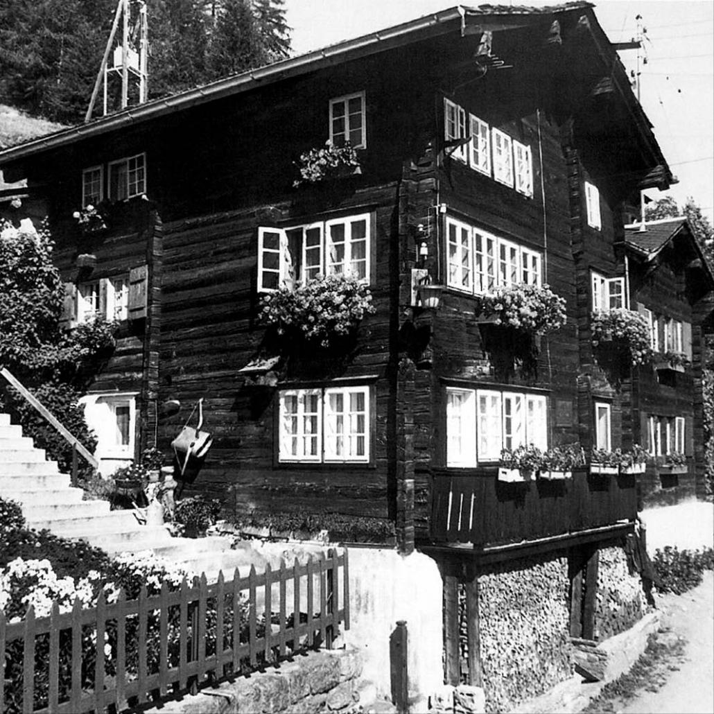 The house in Niederwald where César Ritz was born