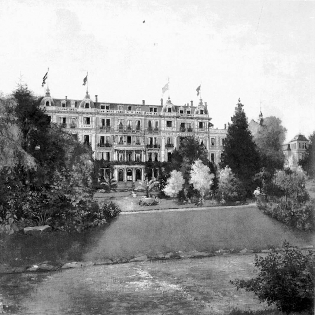 """Hotel """"Minerva"""" in Baden-Baden: César Ritz's first own hotel"""