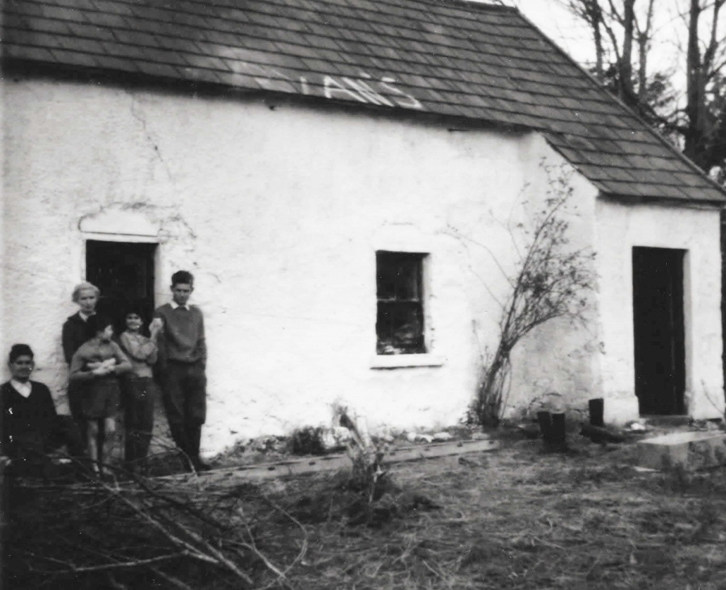 Harvey's cottage in the 60's - Harvey's Point - Our Story