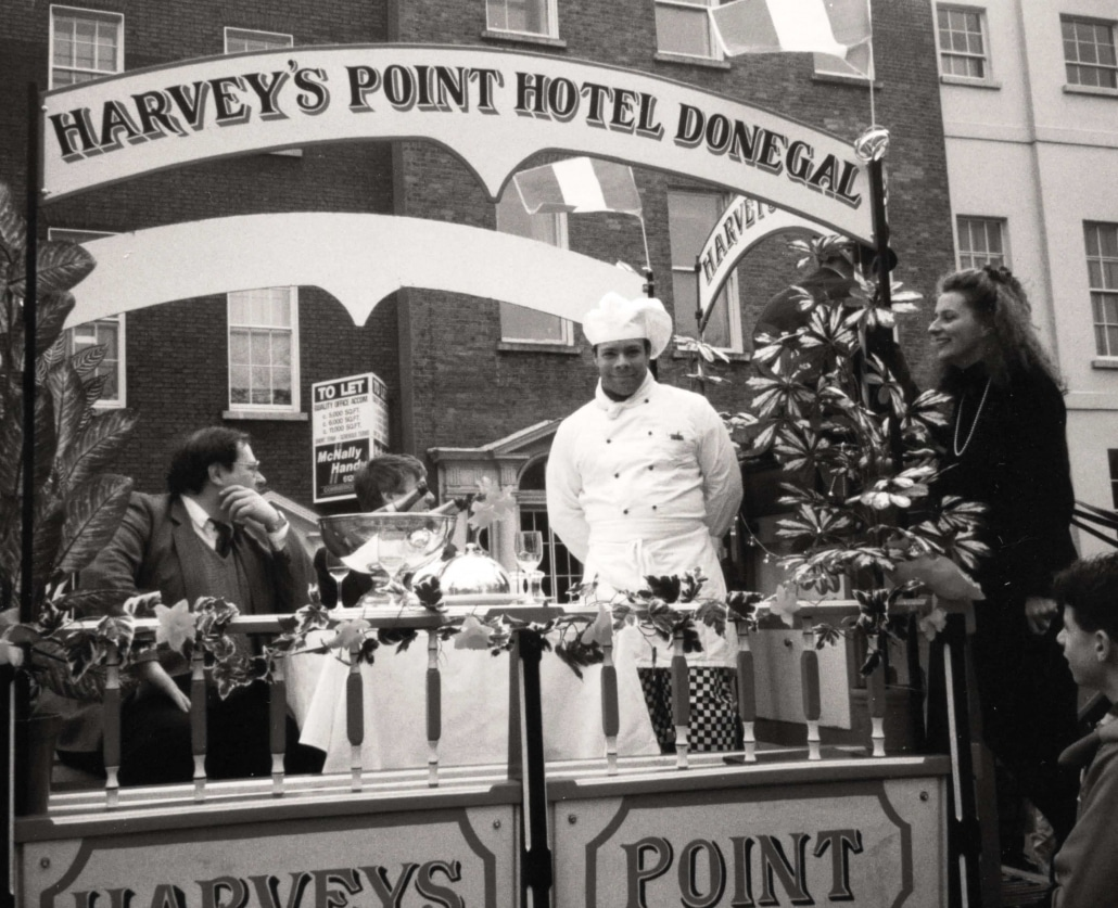 St. Patrick's parade in Dublin - Harvey's Point - Our Story