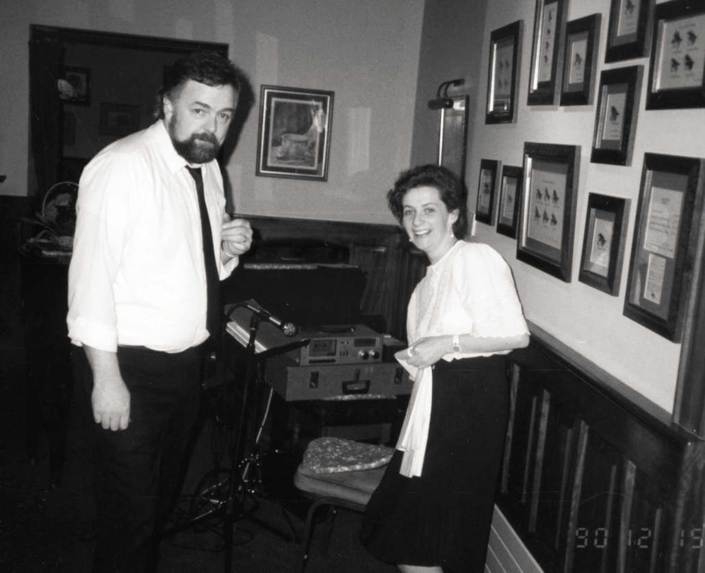 Sound check with Deirdre McGlone Gerry Lawler - Harvey's Point - Our Story