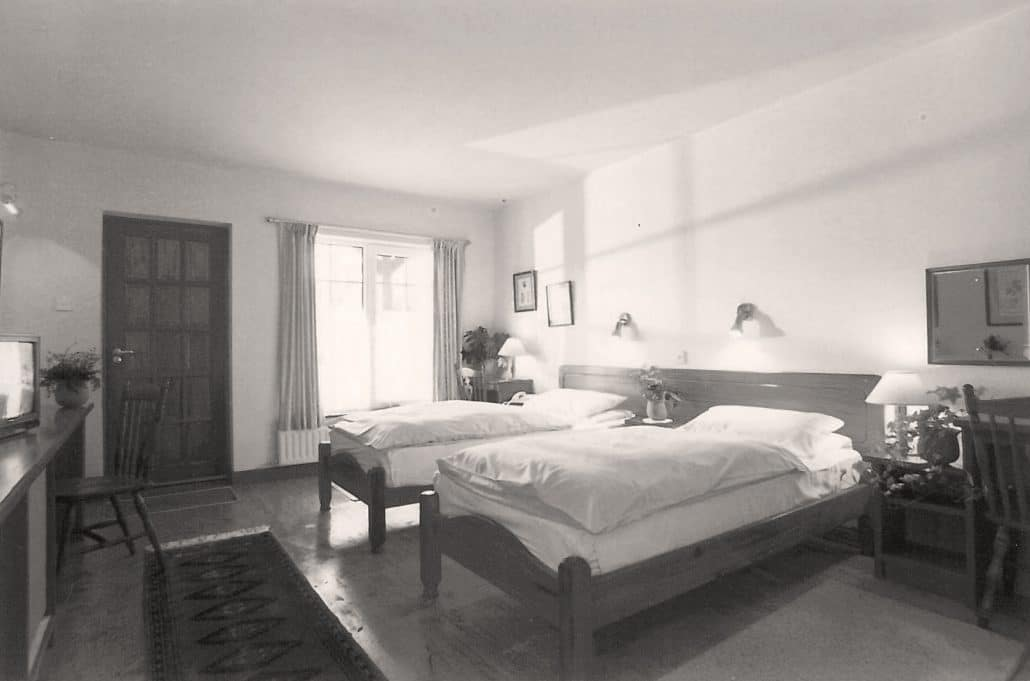 Bedroom in 1989 - The History of Harvey's Point