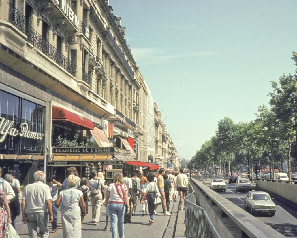 Avenue des Champs-Élysées (Paris) 1986