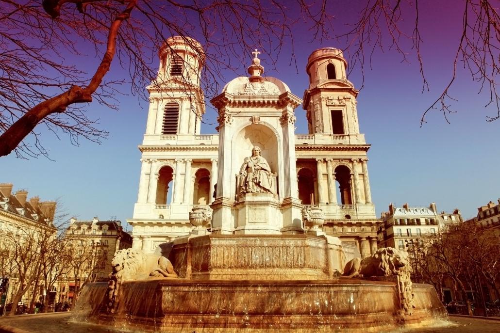 Saint-Sulpice Church, Paris